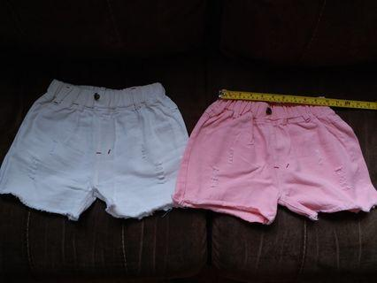 Shorts短褲 x 2