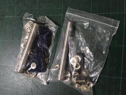 Die set for eyelet 钮扣钉工具