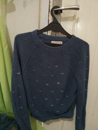 Sweter biru