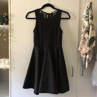 Little Black Dress: Lacy and Size 8