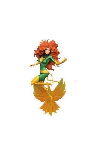 PO: DIAMOND SELECT TOYS Marvel Comic Gallery: Phoenix Jean Grey Diorama PVC Figure