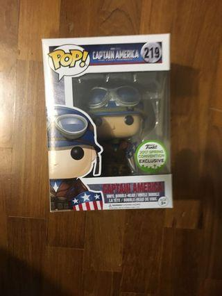 Captain America Eccc funko pop