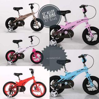 Children Bicycle -light weight 12""