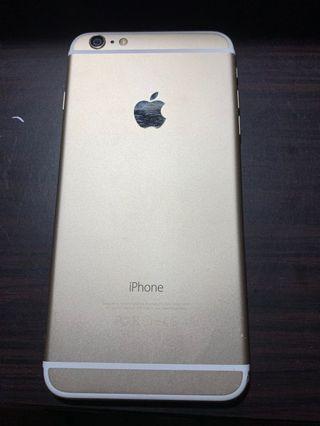 iPhone6plus金色64GB