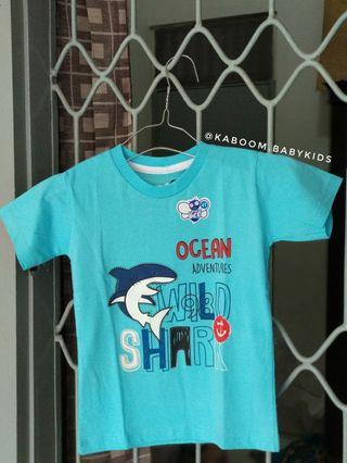 NEW! Kaos Anak Motif Wild Shark