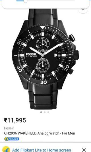 Fossil 2018 for Men (Authentic)
