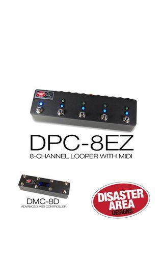 Disaster Area DMC-8D and DPC-8EZ (upgraded to Kunde Firmware)