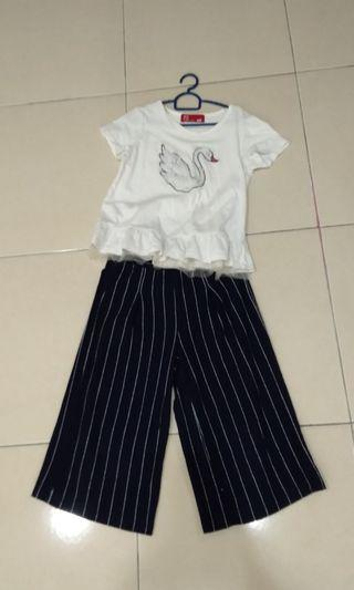 PDI set palazzo n shirt for kids