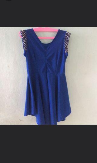 #BAPAU minidress blue