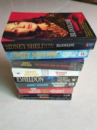Sidney Sheldon + 2 other  books