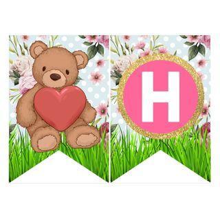 Bunting Banner - Teddy Bear