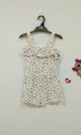 🆕4-5Y Mothercare Playsuit