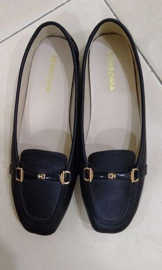 Sembonia black formal shoes