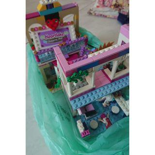 Lego Girls. Cinderella castle and shopping mall