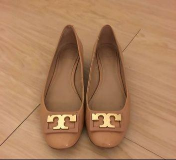 Tory Burch flats (almost new)
