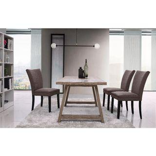 Dark Oak 1.8m dining table special only $210!! With differnt chair options