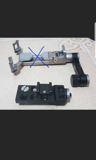 DJI Universal mount & cellphone mount extrnsion for Osmo