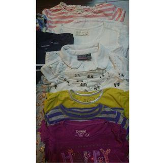 Girls used clothes (5-7yr old)