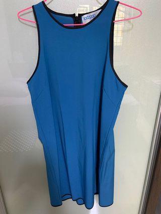 Sleeveless casual dress