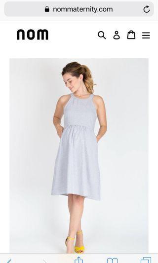 Nom Maternity Dress RRPUS$79 XS