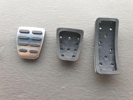 Car pedal covers 1 set for enhanced grip and aesthetic