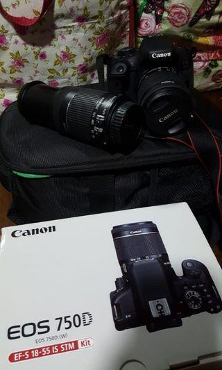 🚚 Canon Eos 750D