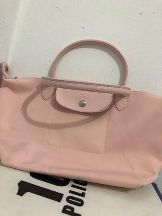 Longchamp baby pink