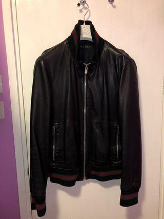 Gucci Leather jacket 90% new