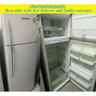 Fisher & Paykel (380L) 2doors Big refrigerator  / fridge ($320 + free delivery and 2mths warranty)
