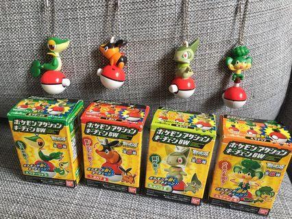 Japan Nintendo Toy Pokemon Figure 日本玩具 寵物小精靈轉轉公仔