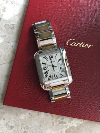 🚚 Cartier Tank Watch