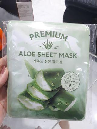 Aloe sheet mask missha