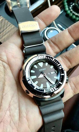 !!! ATTENTION !!! LAST FEW TO OFFER ONLY!!! (No More Stock) Seiko Prospex The Golden Tuna SRPD14K1 Rose Gold Limited to 2200 pieces worldwide. SRPD14/ SRPD14K1/ SRPD 14/ Srpc44/ SRPA81K1/ SRPA83j1.