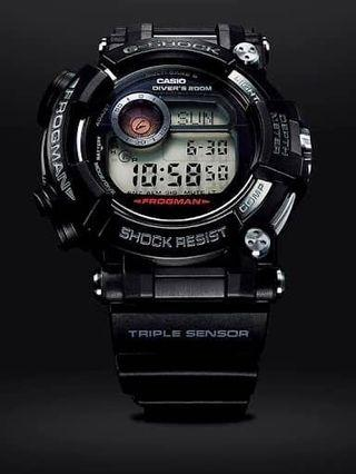 🔥🔥🔥Casio G-Shock Sapphire Edition Frogman Series GWF-D1000-1, Tough Solar, MB6, Sapphire Glass, Triple sensor, Carbon Fiber inner band. (Very popular model) gwfd1000/ gwf D1000b/ gwf-d1000mb/ gwf-D1000k/ Gwf-d1000/ GWFD1000.(Made in Japan)