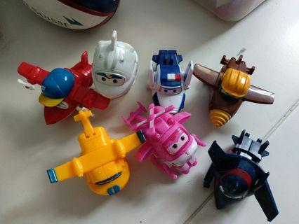 Super wings transformer toys
