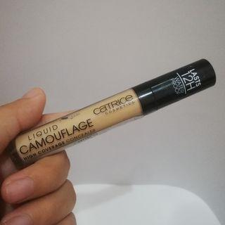 Catrice Liquid Camouflage High Coverage Concealer Shade Honey