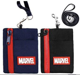 [PO] MARVEL SIMPLE REEL NECK WALLET POUCH CARD CASE