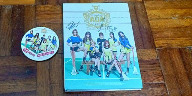 AOA signed from Mwave