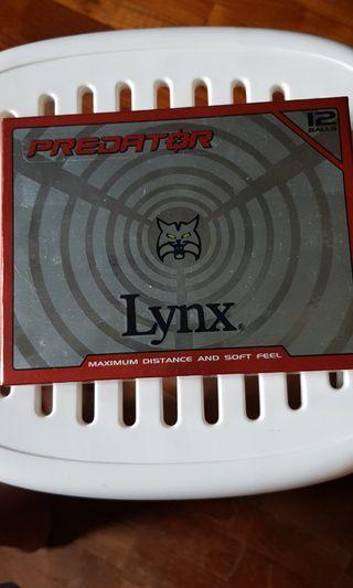 🚚 LYNX PREDATOR GOLF BALLS