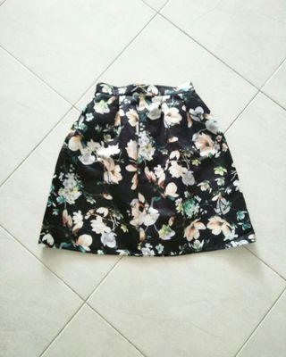 Flower scuba Skirt
