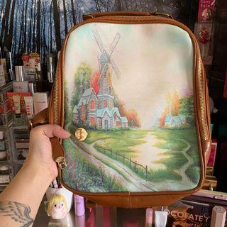 CUTE LANDSCAPE SMALL BACKPACK