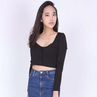(BN) MDS Cropped Top - Size M