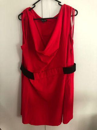 CITY CHIC Size 16 Dress As New