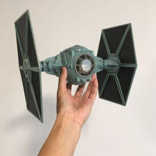 Star Wars potf tie fighter plane power of the force god condition. Vintage