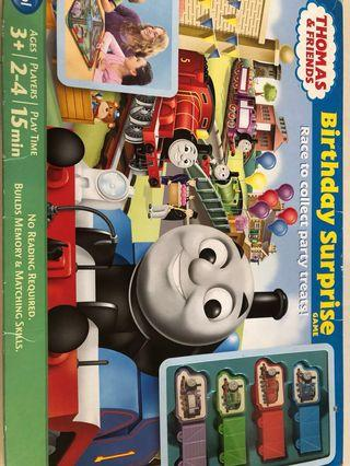 Thomas train Birthday Surprise Party board game