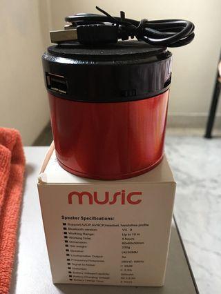 🚚 Music speaker