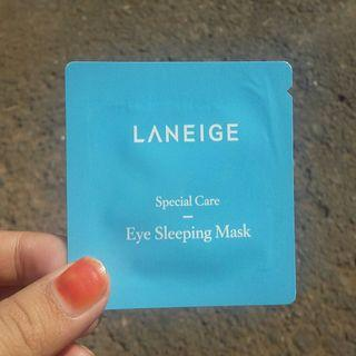Laneige Eye Sleeping Mask sample kit