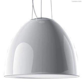 意大利Artemide NUR Gloss 白色廳吊燈