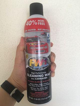 FW1 Cleaning Wax