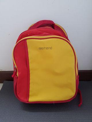 Tas ransel anak bayi merah kuning Allerhand original